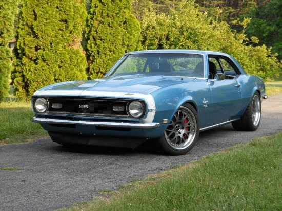 Steve Hayes 1968 Camaro Ss On Forgeline Wc3 Wheels
