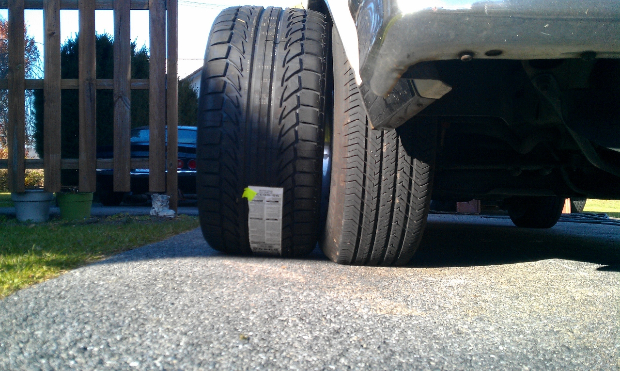 Tire Size Comparison >> 275/40r17 on the front of a g-body?