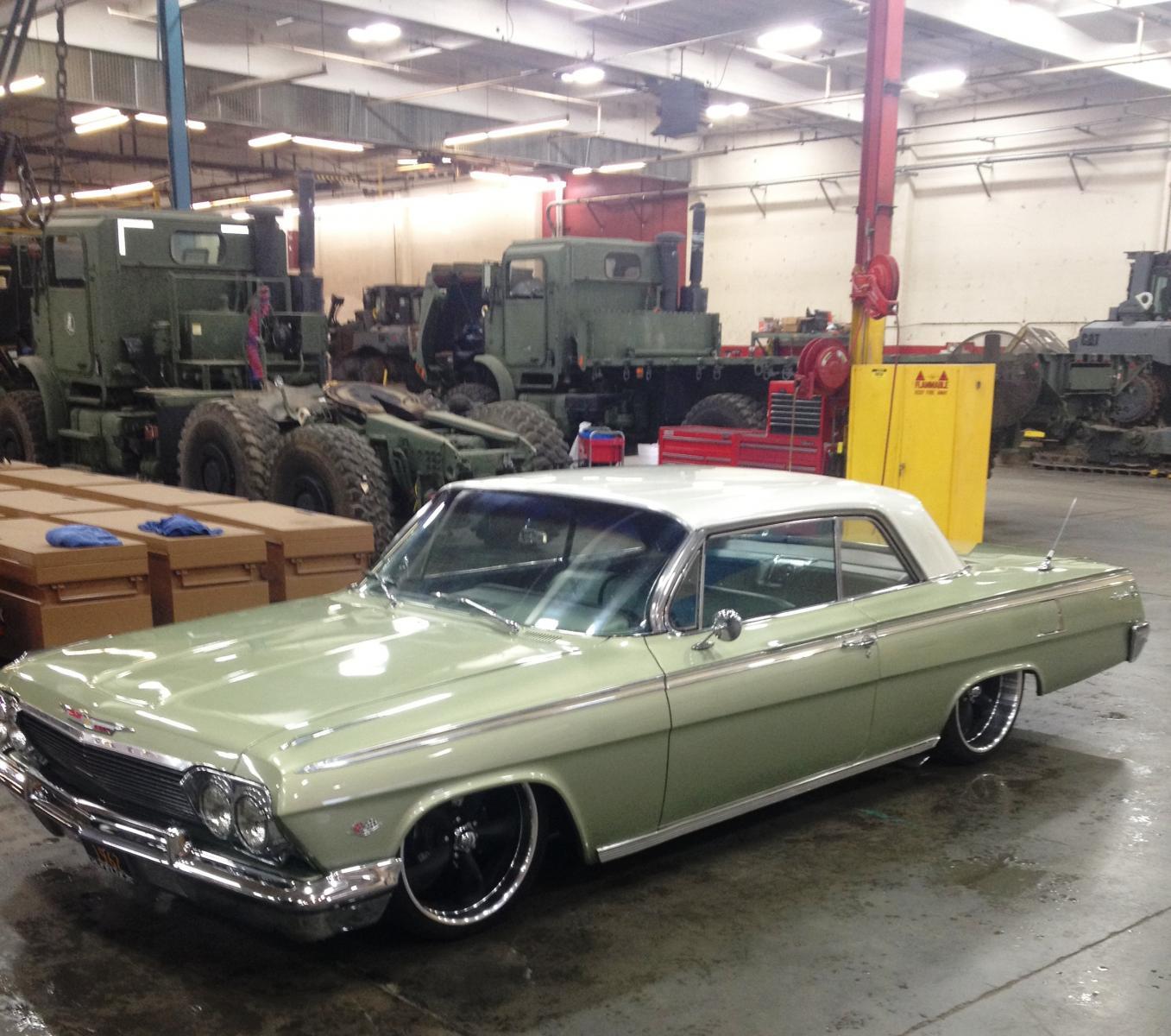1962 impala build