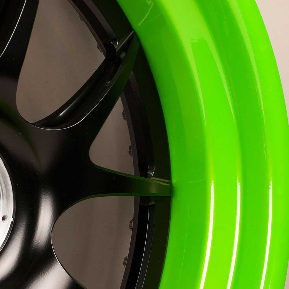 Forgeline S New Candy Lime Powder Coat Color