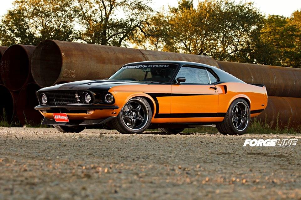 Schwartz Performance 69 Mustang Fastback On Forgeline