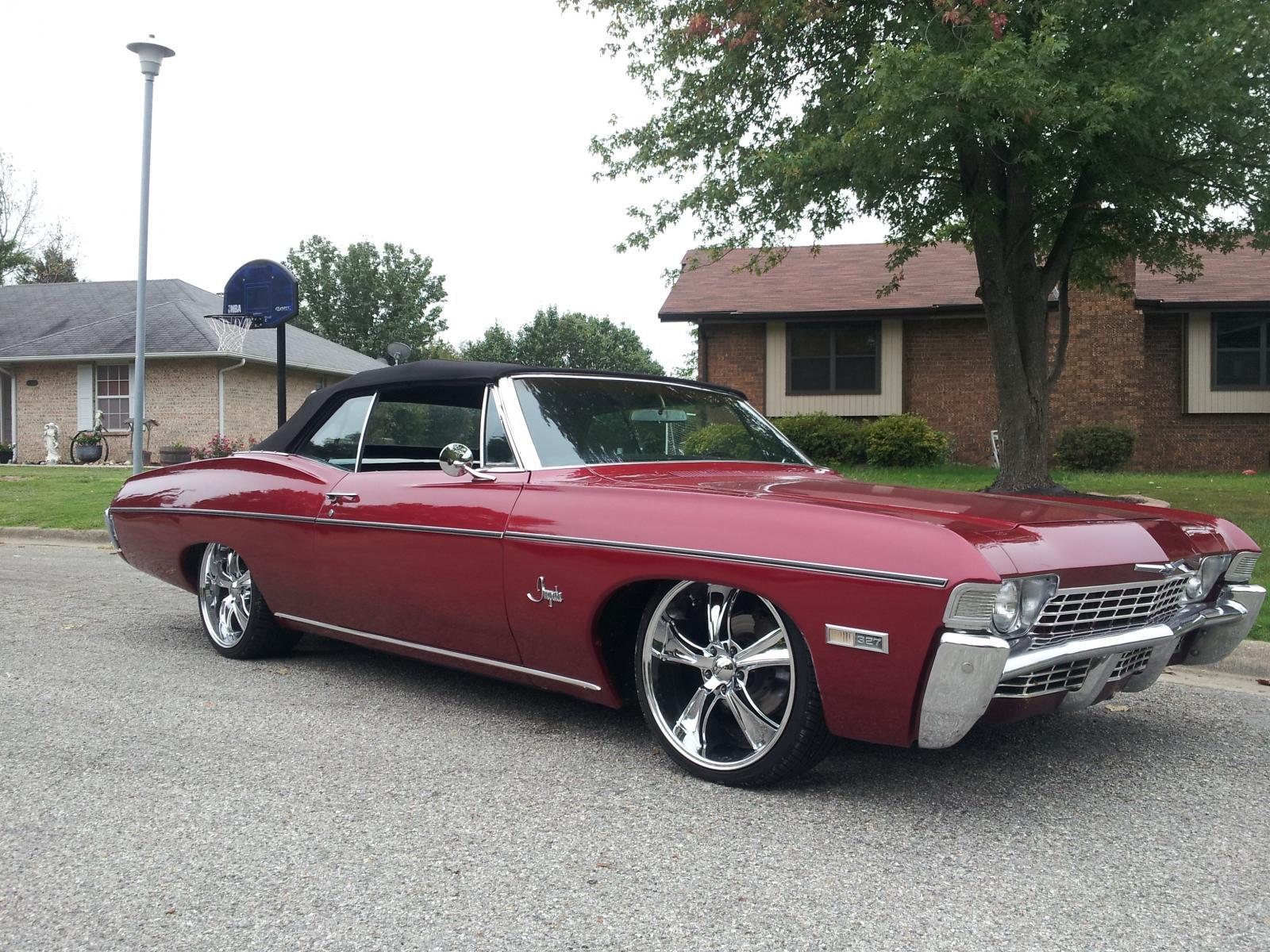 68 Impala Slammed