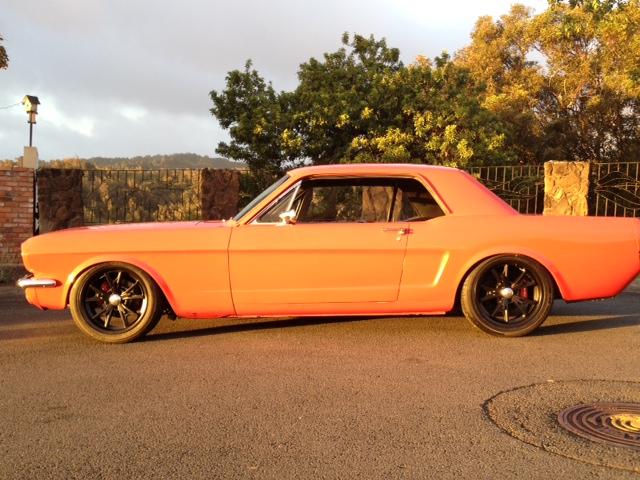 17X7 5 Rims >> 1965/1966 mustang..wheels too big? - Page 5