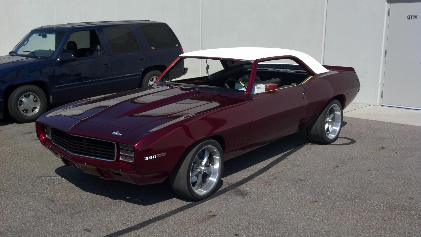 1969 Protouring Camaro for Sale (Project Hellfire)