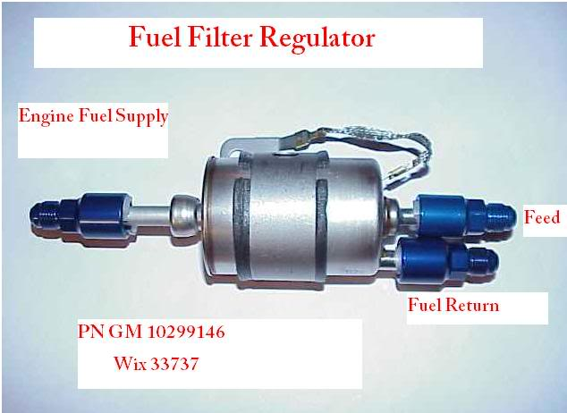 Corvette Fuel Filter    Reg
