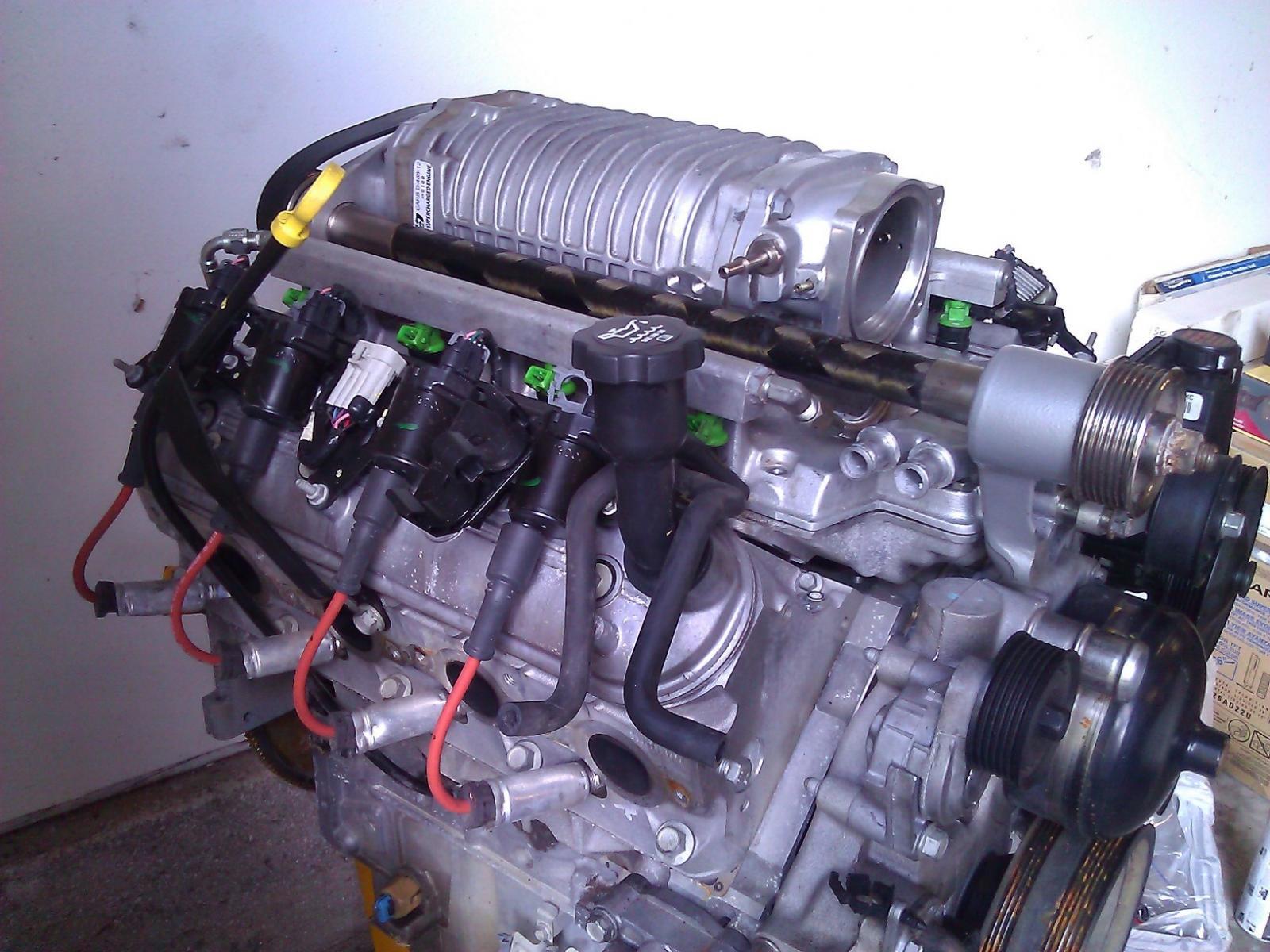 L33 Engine Magnacharger