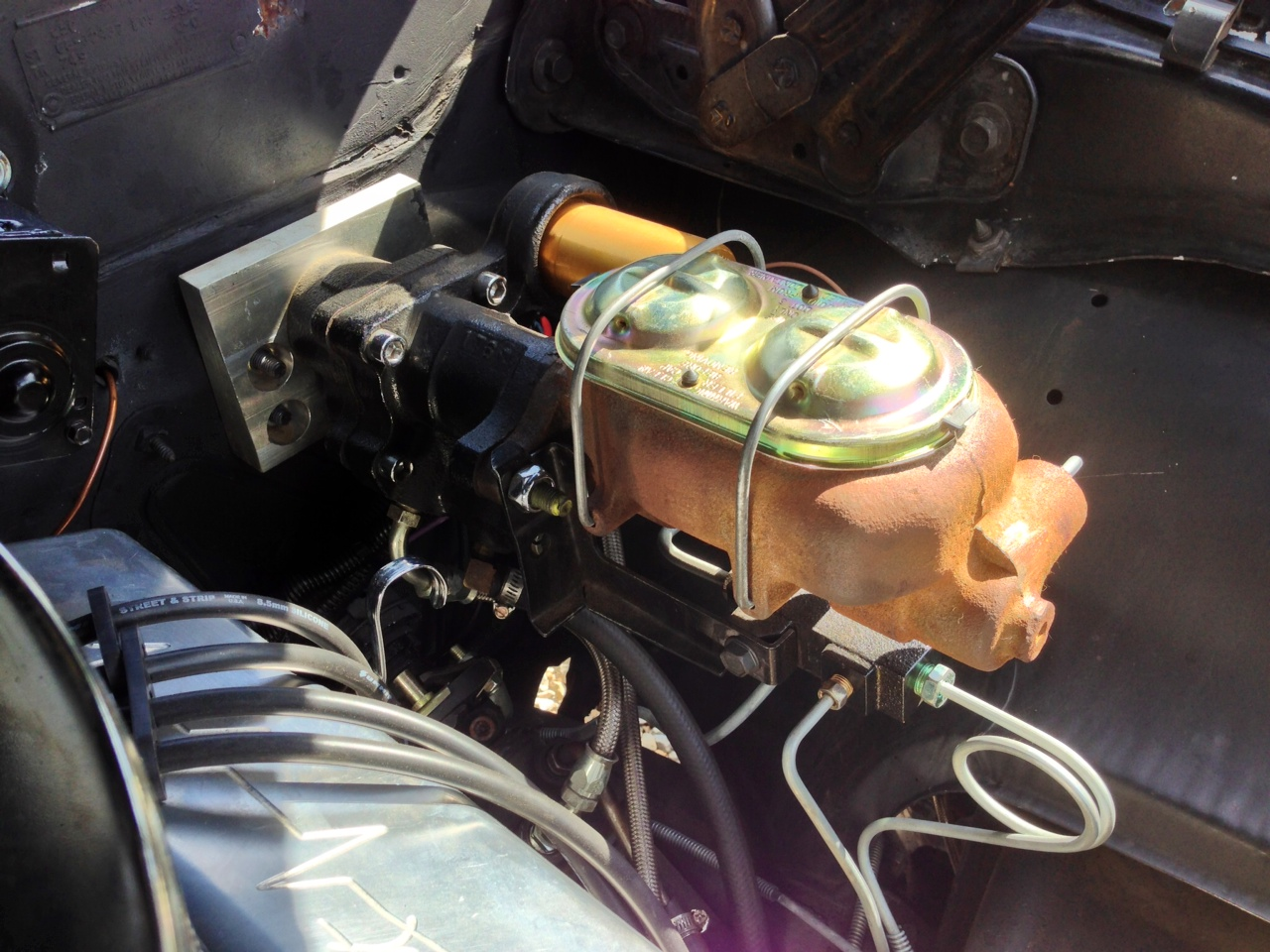 Hydratech Hydroboost w/stainless lines, master cylinder and