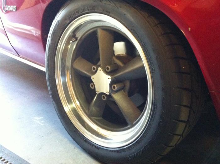 Custom Stainless Flat Caps Vintage Wheel Works
