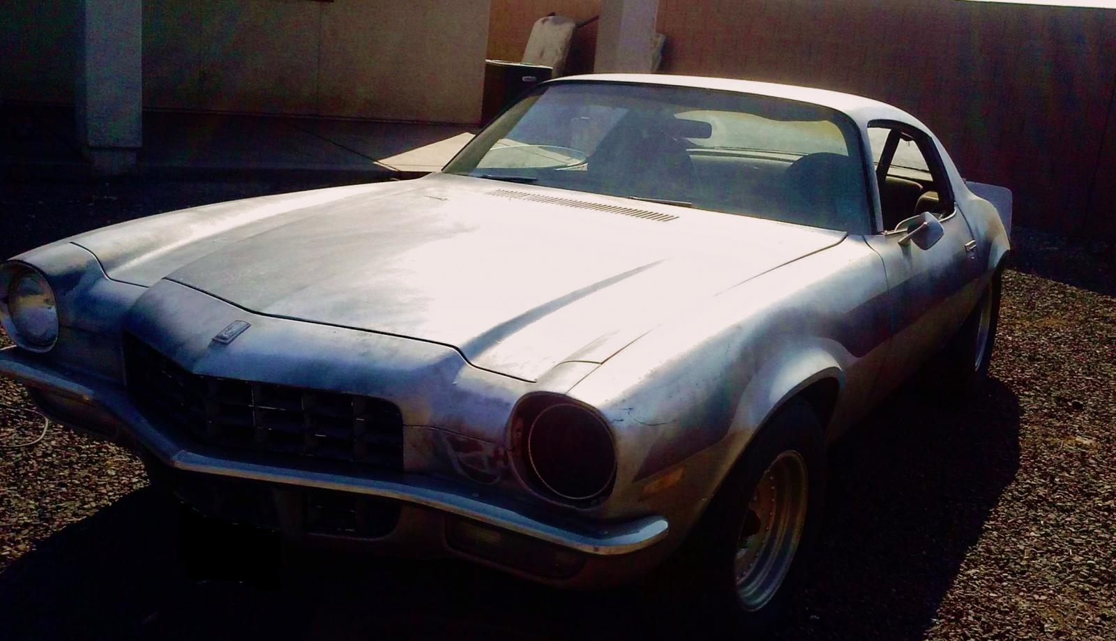 1972 Camaro Project All Original 1 Owner 5000
