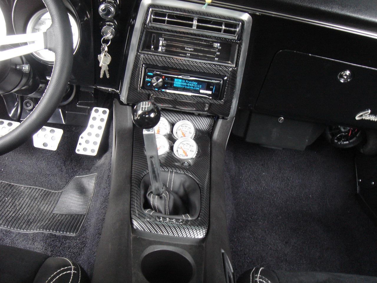 A Few Interior Pics Of My 68 Camaro With Single Din Radio