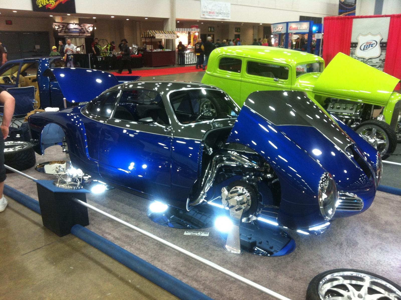 Karman Ghia Viper V10 Named Blue Mamba