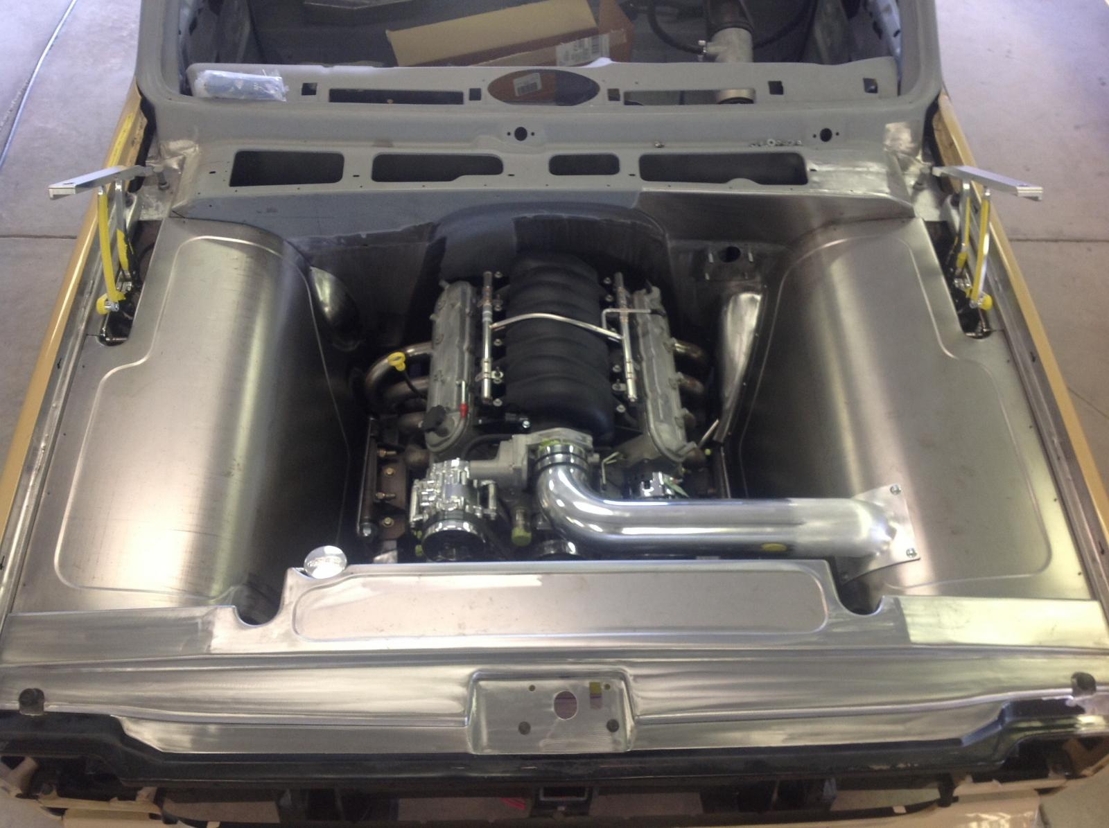 Metal Engine Bay : Engine bay photos page