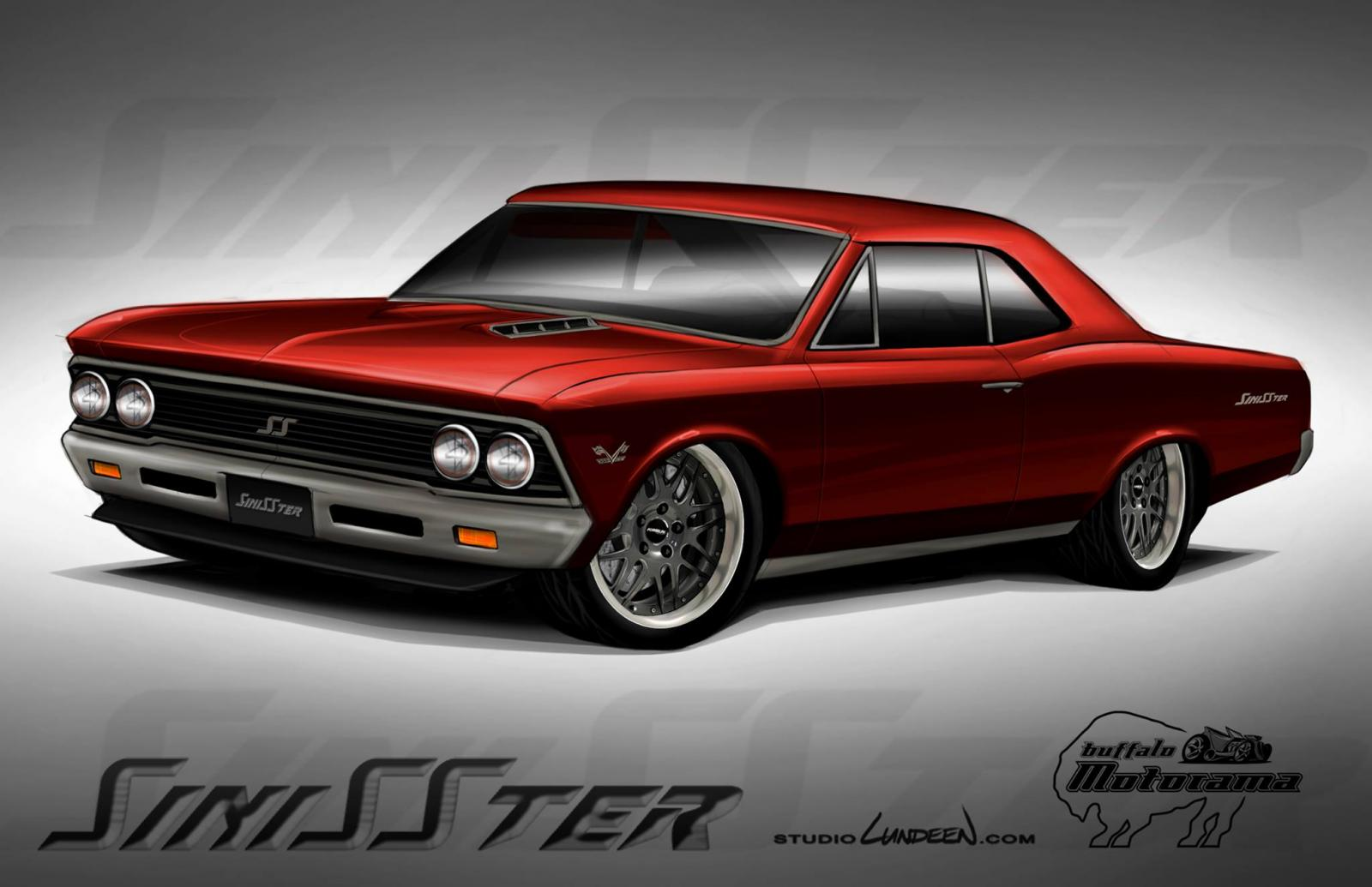 1966 Chevelle Pro Touring Project Sinisster Page 2