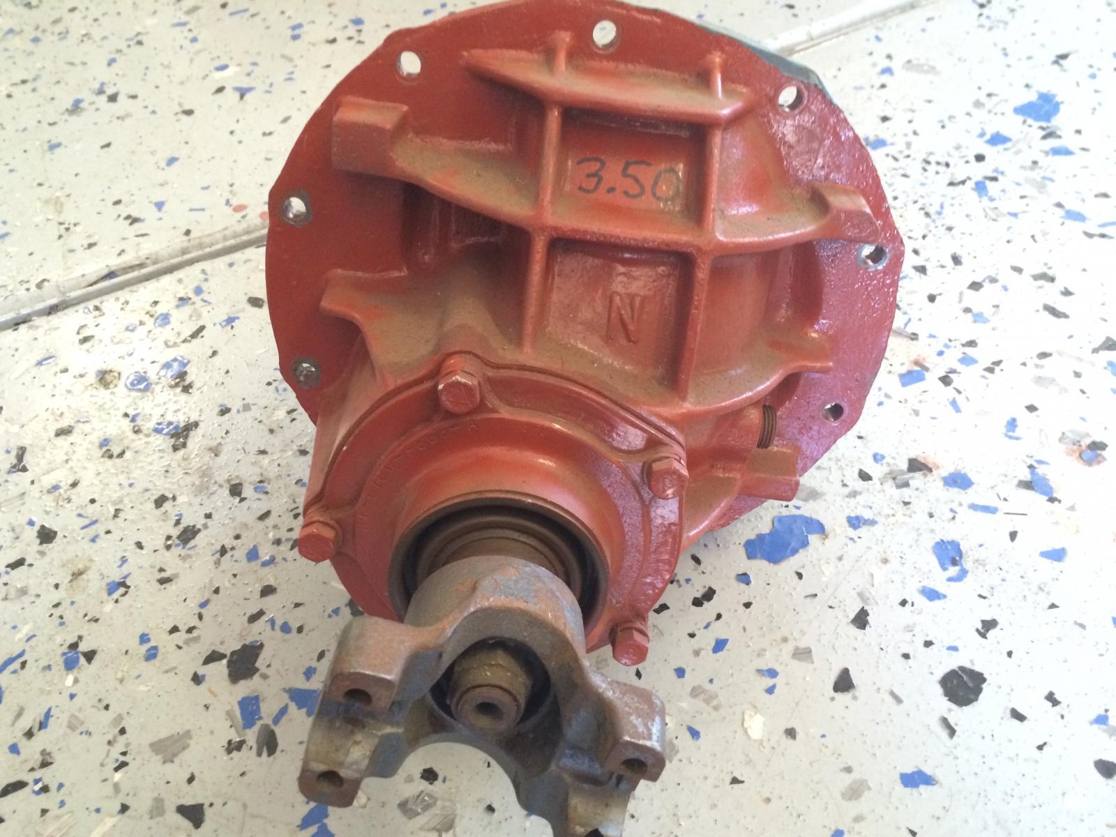 Ford 9 inch center section Nodular Iron, Strange Rear end housing