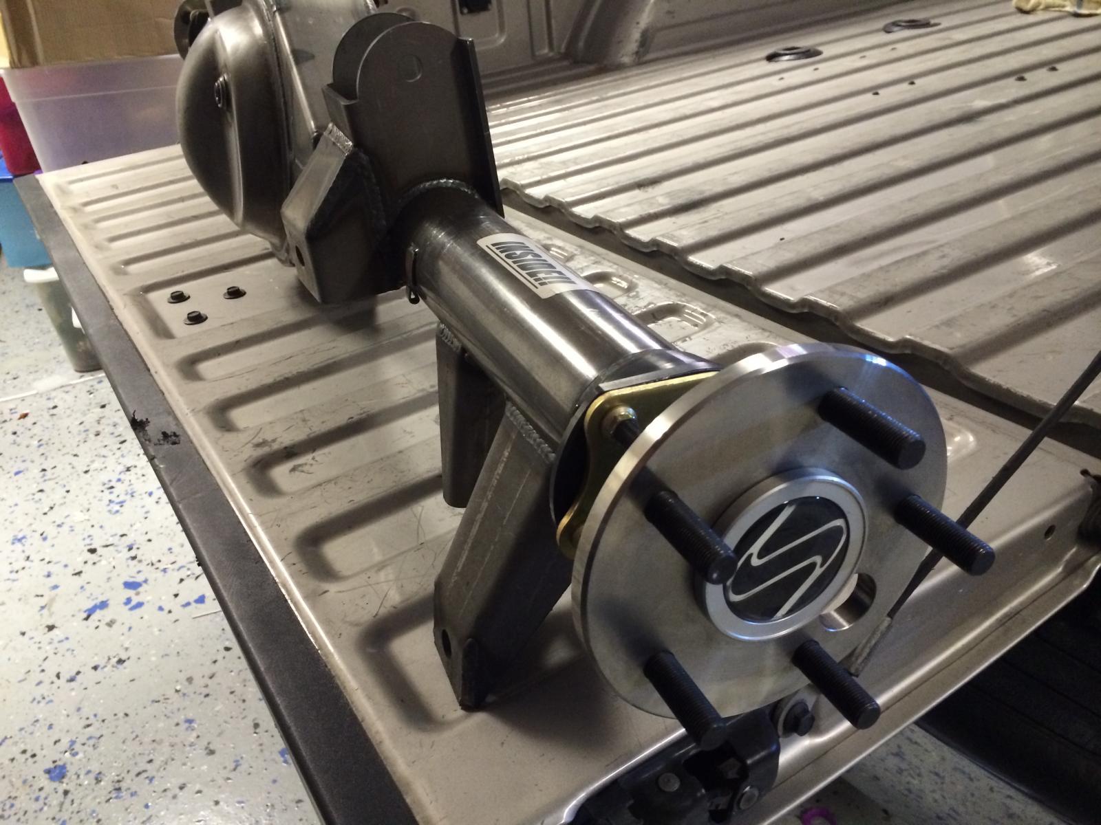 Attachment on 2013 Camaro Suspension