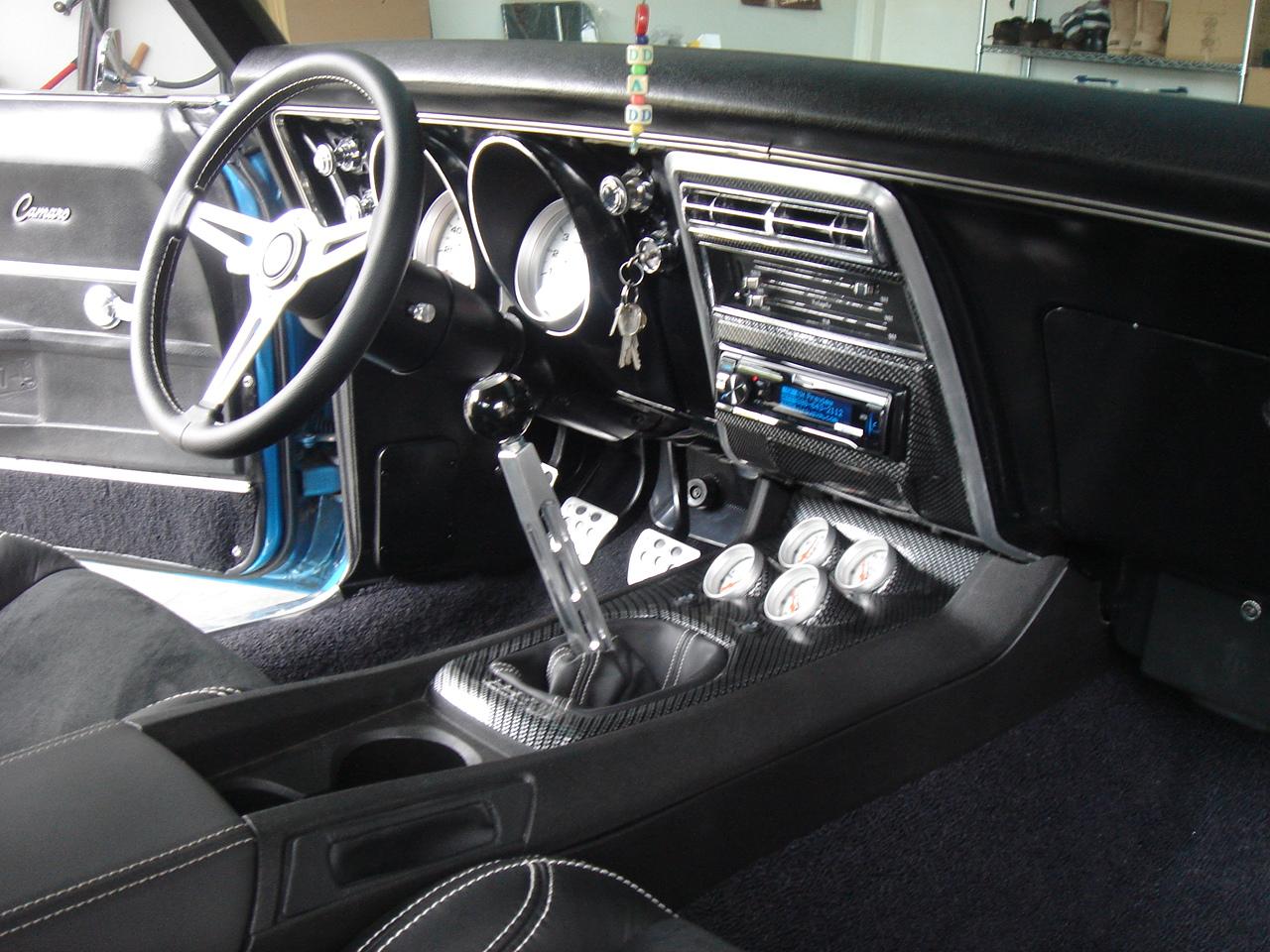 67 Camaro With 5th Gen Center Console