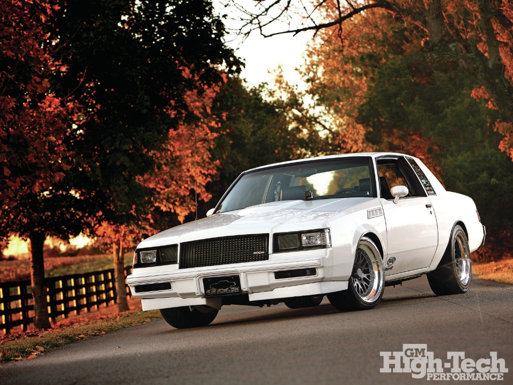 Buick Regal T Type >> 1986 Buick Pro-touring T-Type