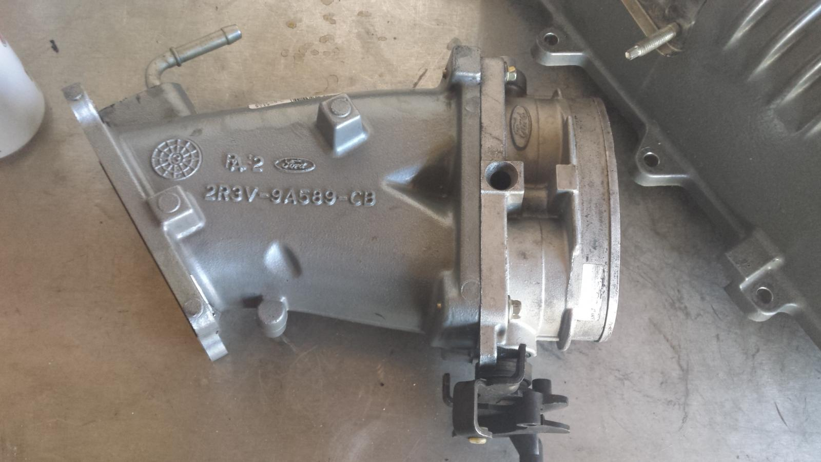Eaton M112 Supercharger & throttle body from a Terminator