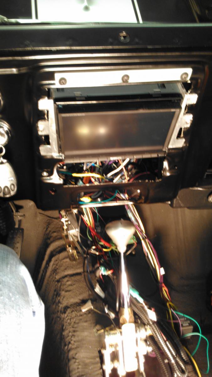 1968 Camaro Double Din Install
