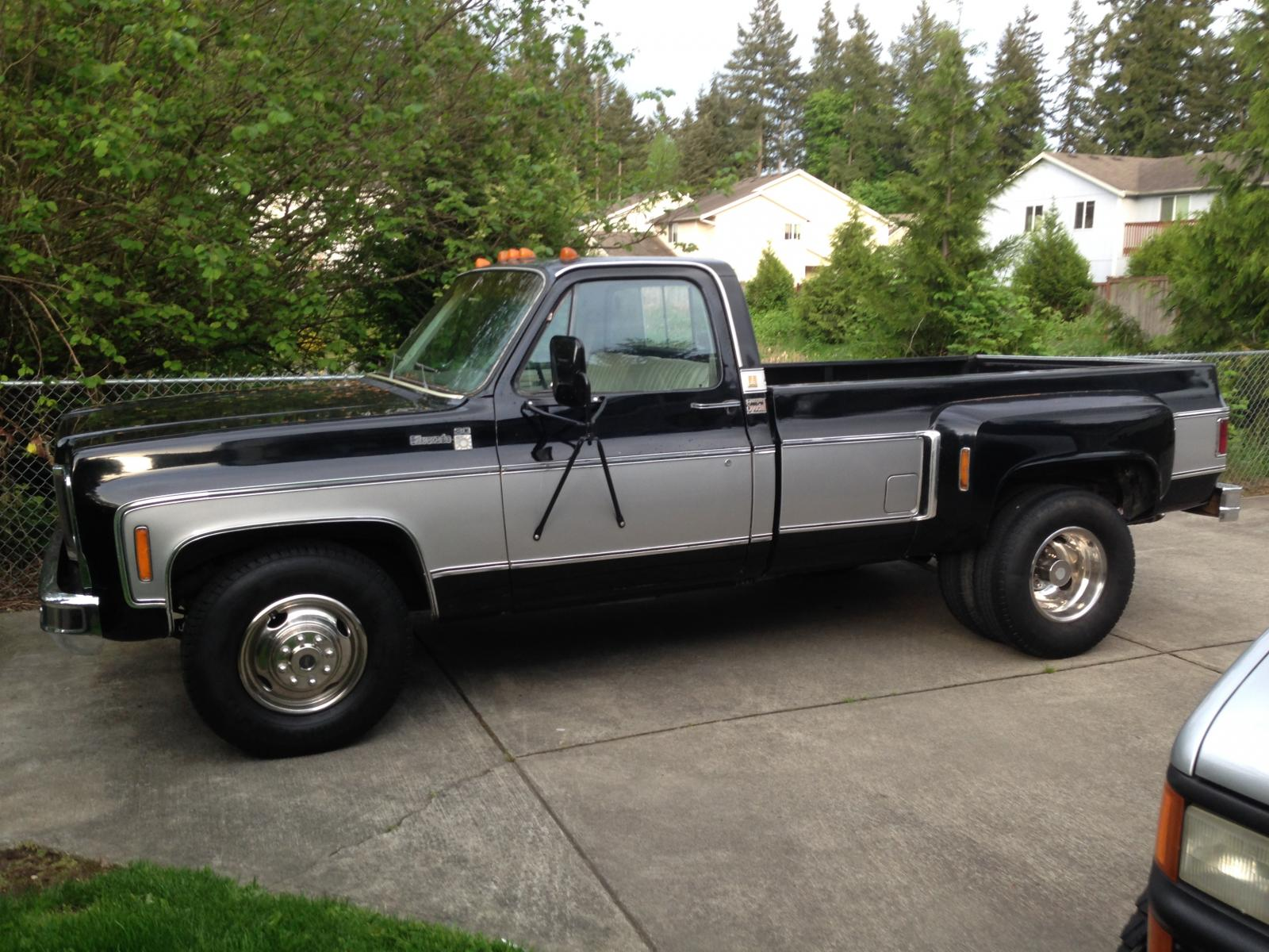 Thread 1979 chevy single cab 1 ton dually 454 400 vintage tow rig