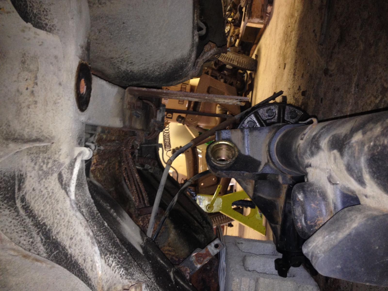 LS 72 Datsun 240Z Rear Differential/Suspension