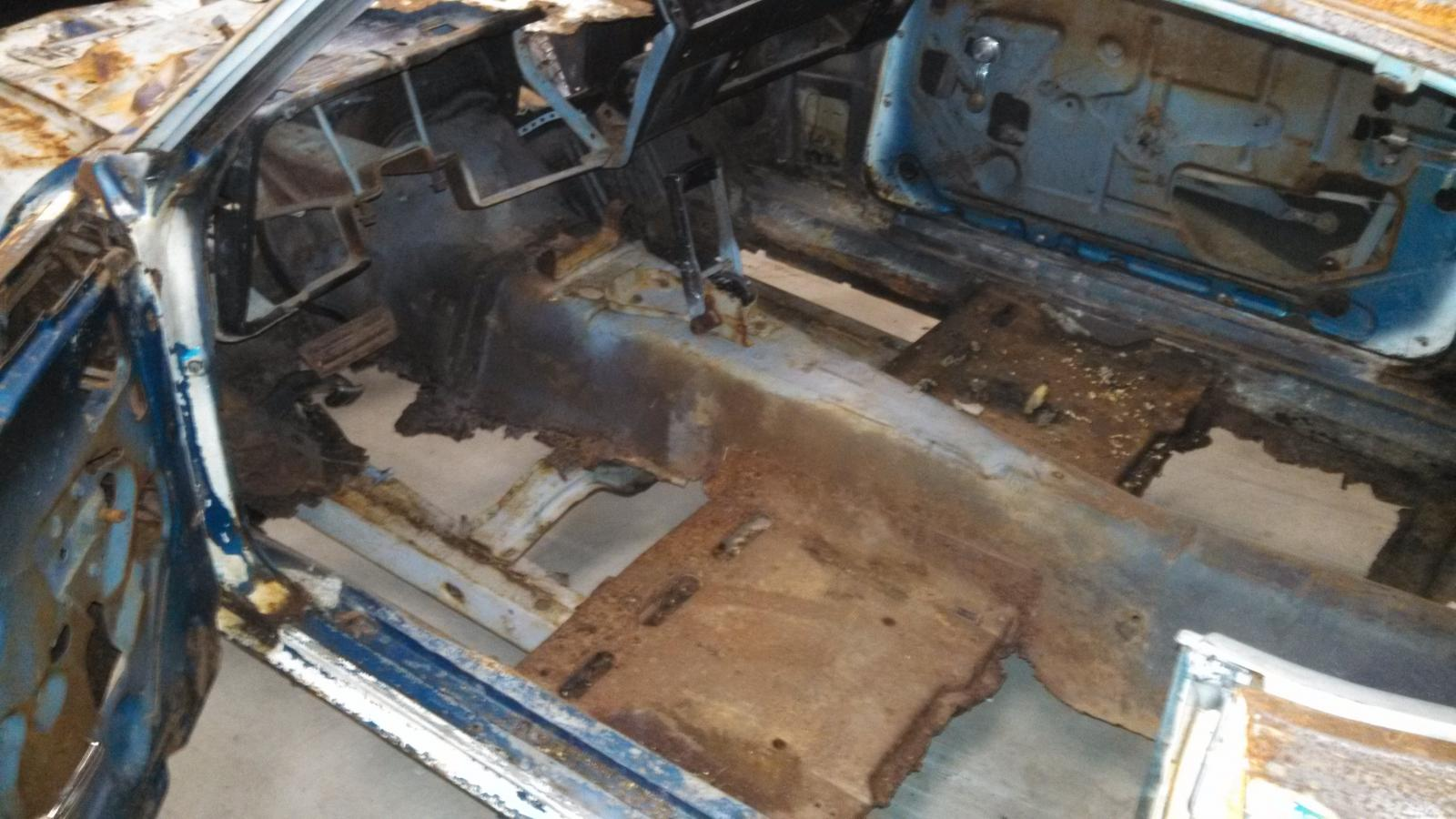 35th anniversary 69 camaro build for 1968 mustang floor pan replacement