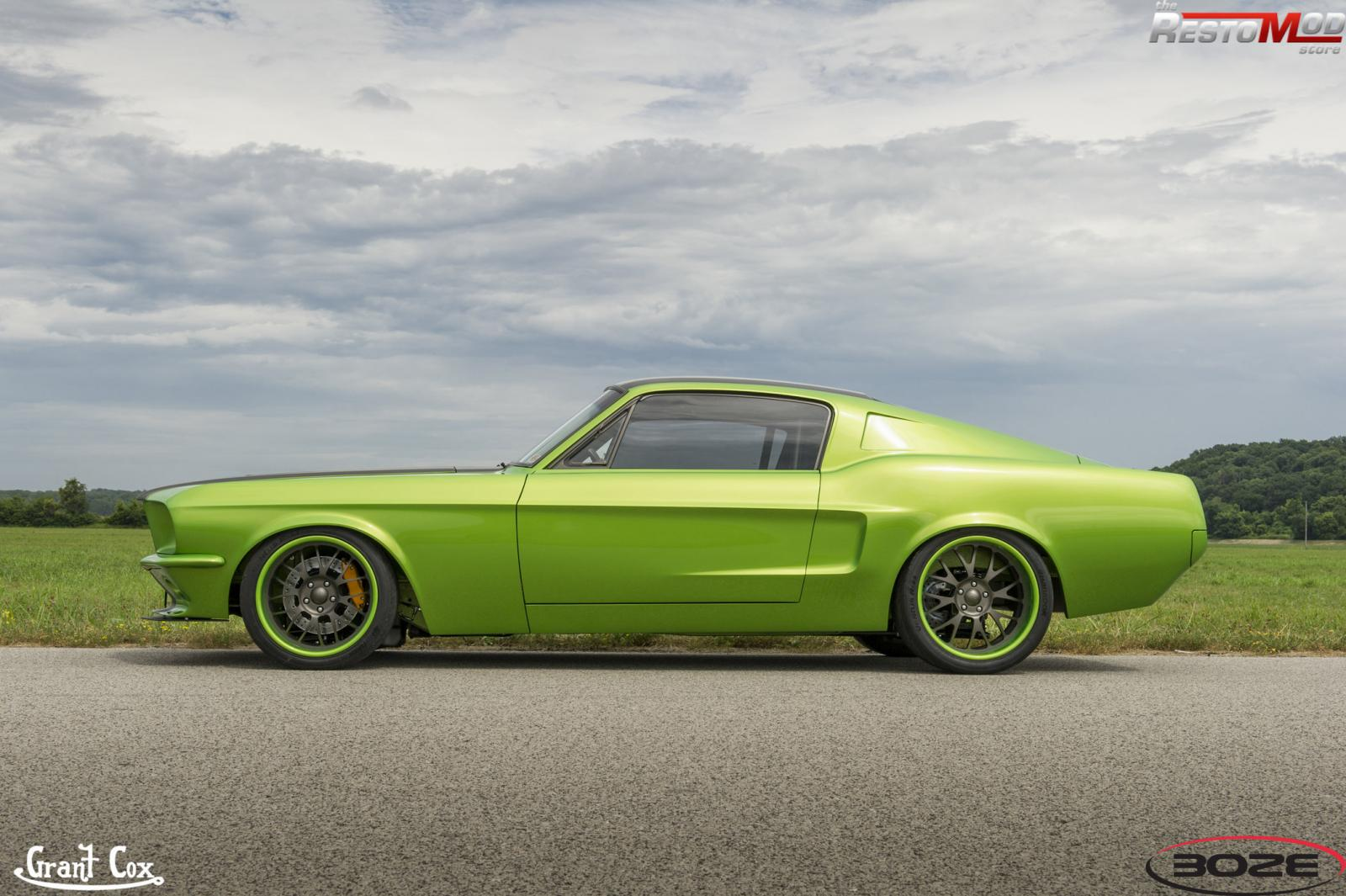 Buick Regal T Type >> RestoMod Stores 67 Fastback with Boze Pro Touring wheels