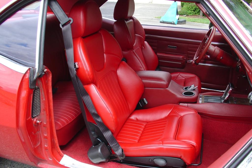 Recaro Seats In 68 Camaro