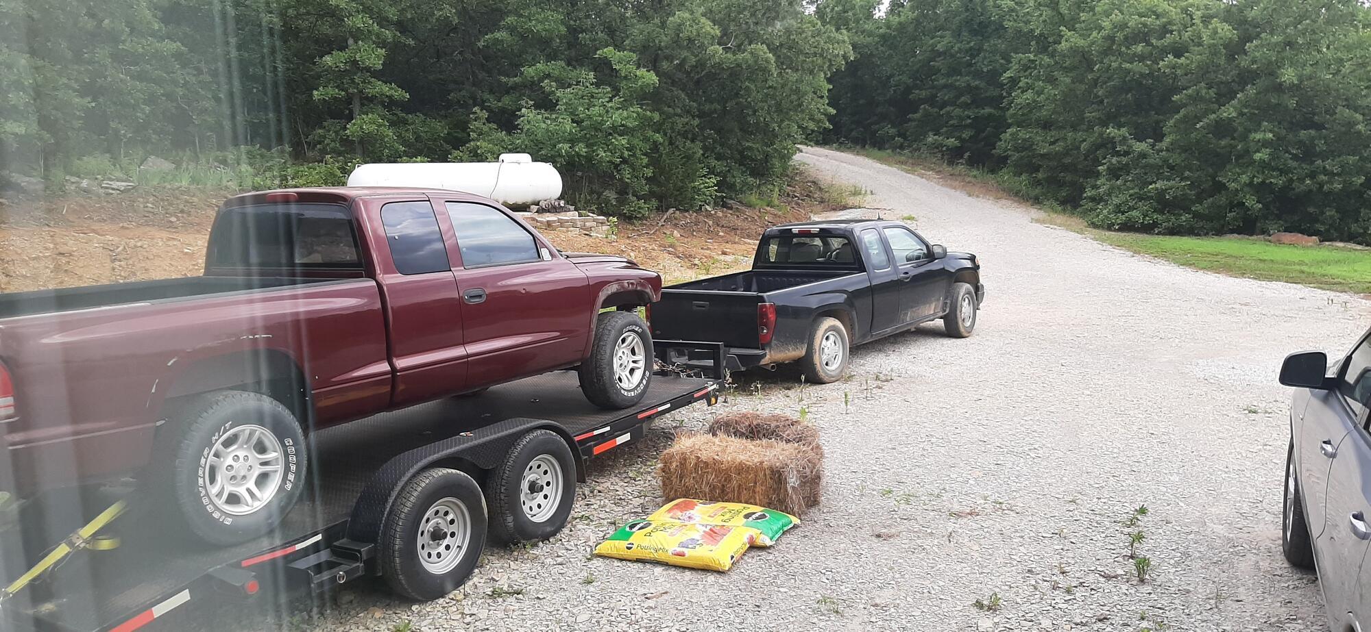 Name:  Dodge on trailer.jpg Views: 456 Size:  367.8 KB