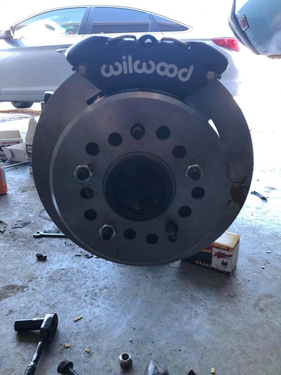 Name:  disc brake installed.jpg Views: 825 Size:  112.7 KB