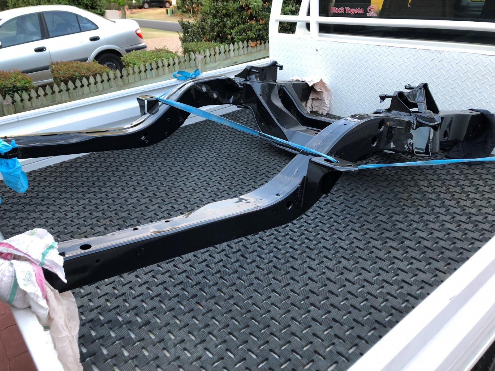 Name:  Camaro subframe powdercoated 1.jpg Views: 1607 Size:  325.0 KB