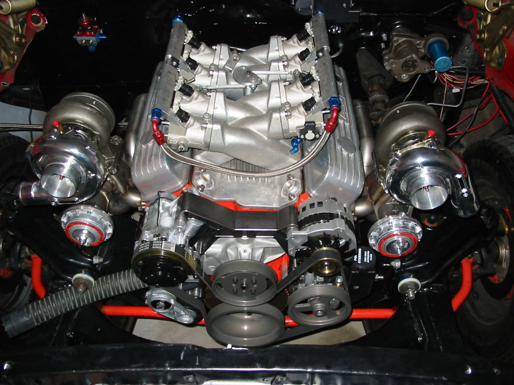 Small Block Chevy Twin Turbo Kits
