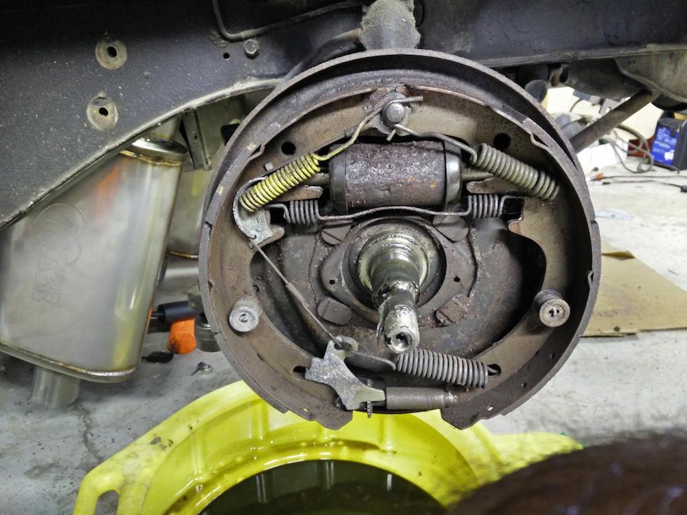 Mustang Steve's disk brake install overview